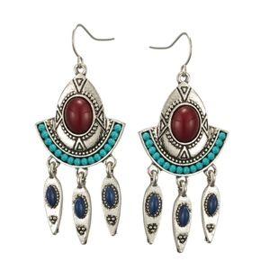 Vintage bohemian ethnic earring